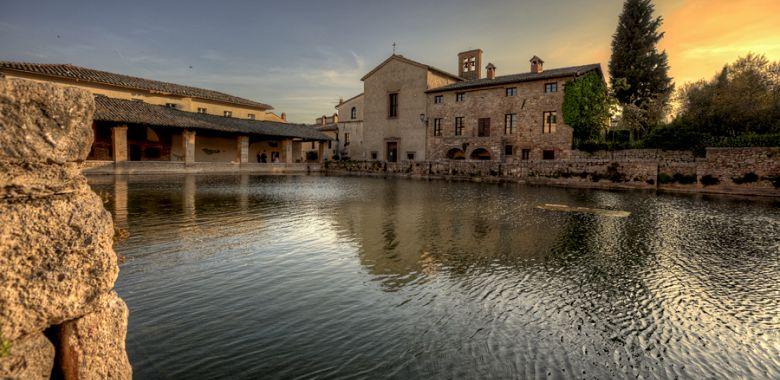 Terme libere bagno vignoni bagno vignoni terme libere stabilimenti termali e visita foto - Adler bagno vignoni offerte ...