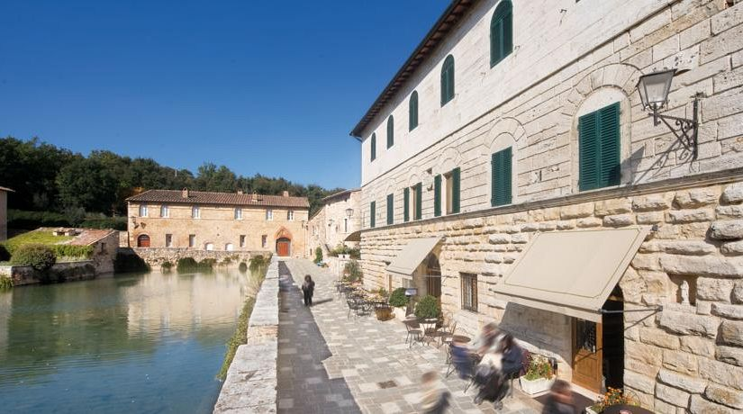 Stabilimento Termale Albergo le Terme - Terme di Bagno Vignoni ...